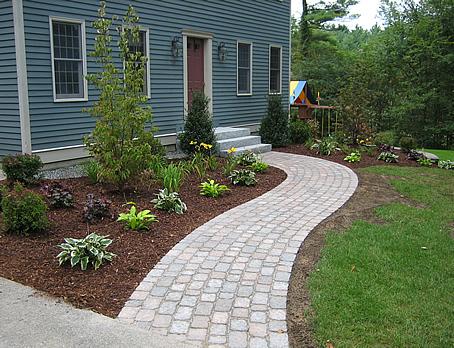 Distinctive Stone Paver Or Brick Walkways And Driveways