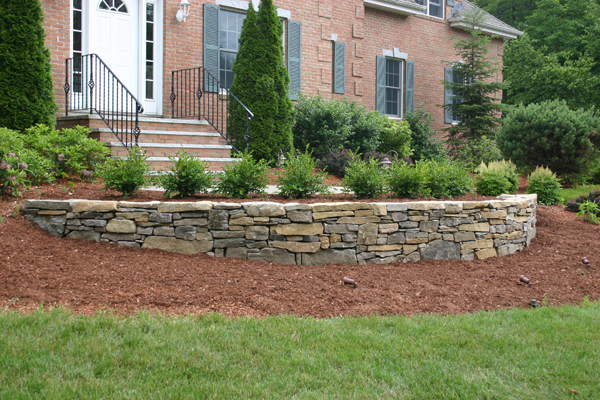 Landscaping Ideas With Stone : Landscaping ideas with stone wall